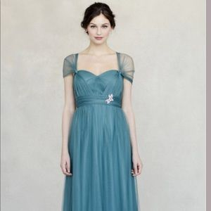 Jenny Yoo Annabelle dress in Vintage Teal